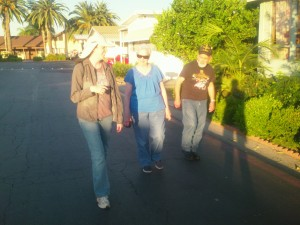 A stroll through the Ponderosa Travel Trailer Park in Anaheim California