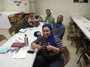 Left to right/back to front: Sheena Young, Carrie Young, Fredrick Young, Bill Young, Mami Young